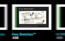 Five Sketches™ is one of the trading cards